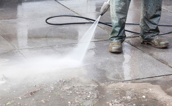 Cleaning Concrete