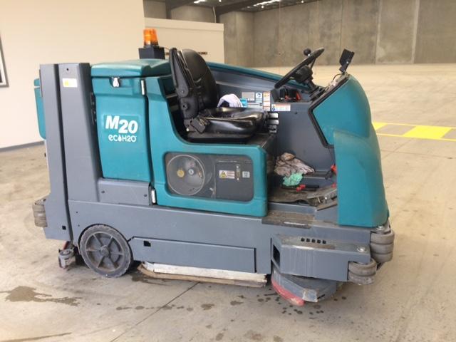 Floor Sweeper & Scrubber