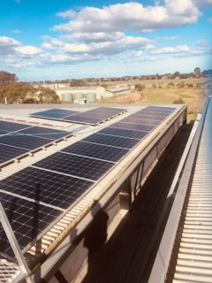 Commercial Solar Panels Cleaning